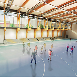 Salle multisports à Lisle sur Tarn (81)