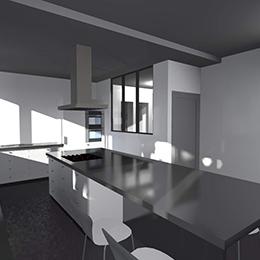 Rénovation complète maison rue Jacques Roudil (31)
